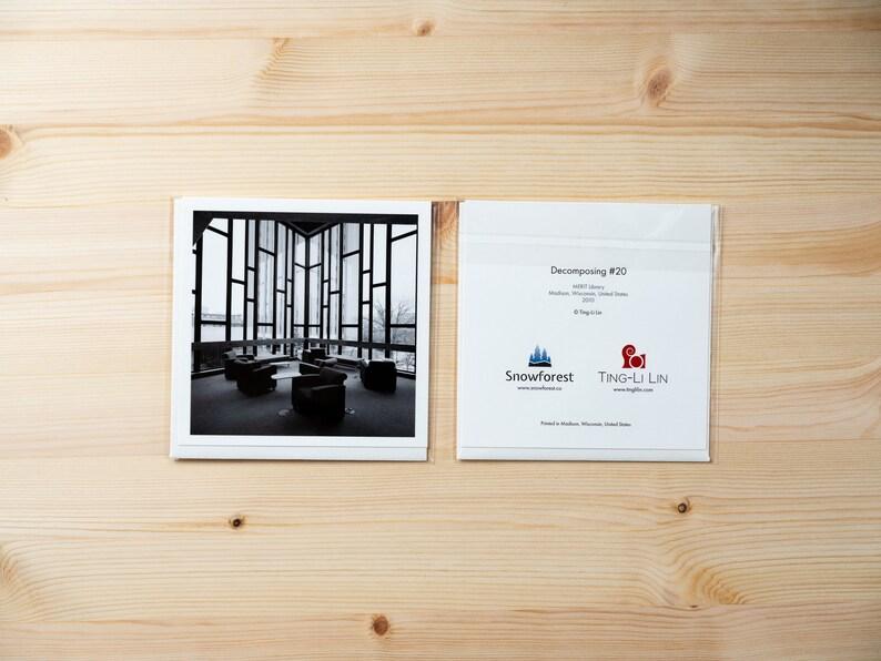 Artist Card  Square  Decomposing 20 by Ting-Li Lin image 0