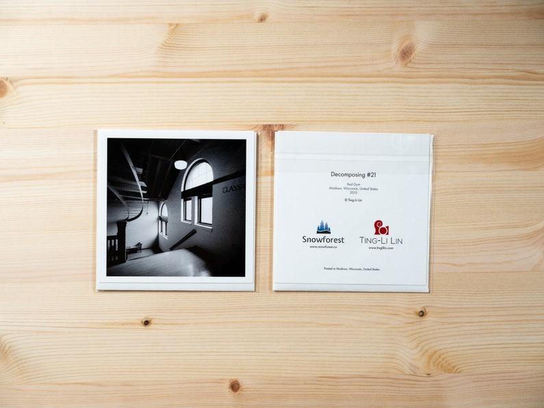 Artist Card  Square  Decomposing 21 by Ting-Li Lin image 1