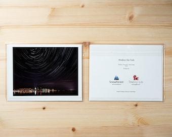 Artist Card - Large - Madison Star Trails by Ting-Li Lin