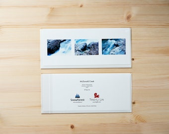 Artist Card - Panoramic - McDonald Creek by Ting-Li Lin
