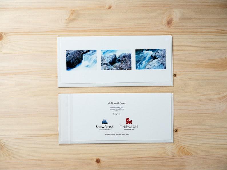 Artist Card  Panoramic  McDonald Creek by Ting-Li Lin image 0