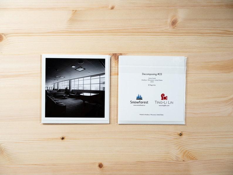 Artist Card  Square  Decomposing 23 by Ting-Li Lin image 0