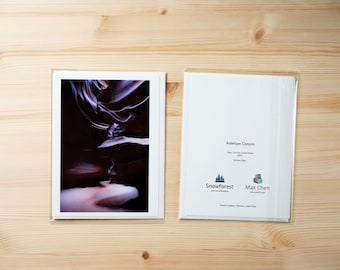 Artist Card - Large - Antelope Canyon by Max Chen