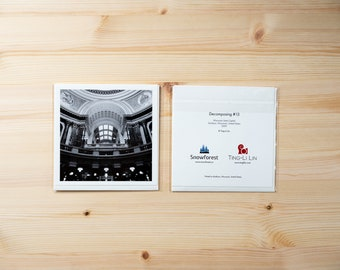 Artist Card - Square - Decomposing #13 by Ting-Li Lin