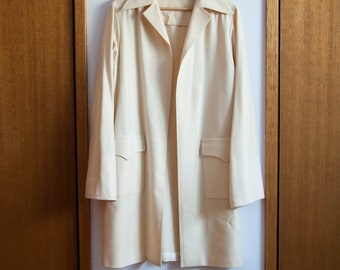 Vintage Wool Coat, Made In France