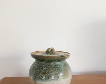 Handmade Jar with Lid