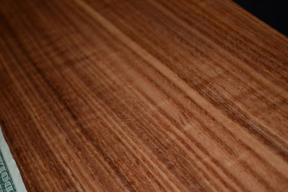 """Rosewood wood veneer 7/"""" x 5/"""" raw no backing /""""A/"""" grade quality 1//42/"""" thickness"""