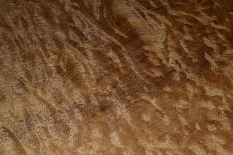 Imbuya Burl Wood Veneer Sheets 14.5 x 15 inches