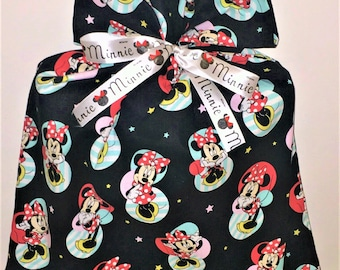 Black Minnie Mouse Gift Bag