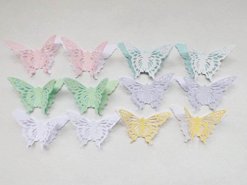 8 X Papier Fait Main Fleur Embellissements Fabrication Carte Scrapbook Toppers Crafts