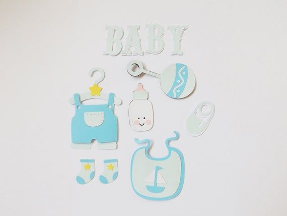 Crafts /& Cardmaking 5 x /'ITS A BOY/' BABY BOTTLES Embellishment for Papercrafts