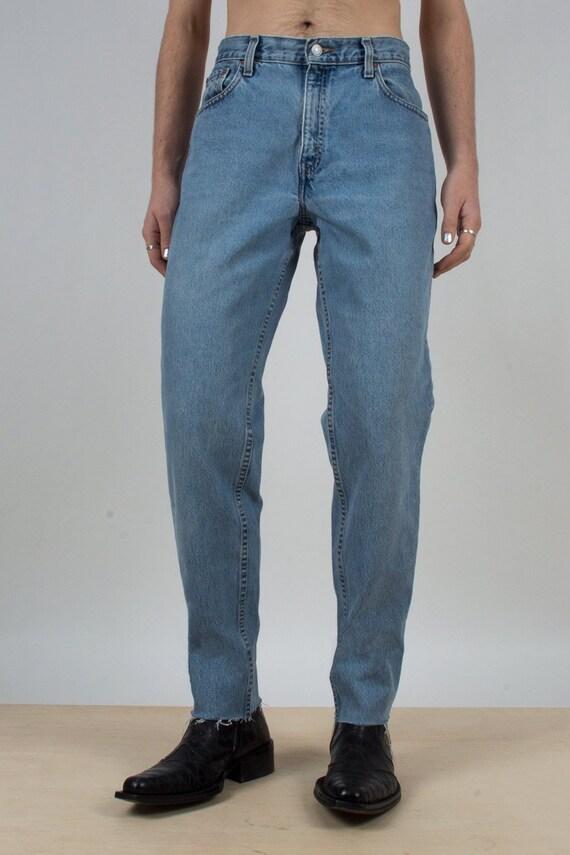 Levi's 550 Raw Edge Jeans