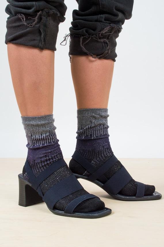 90's Strappy Sandal Heels