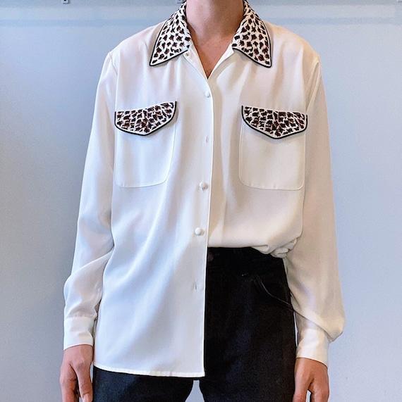Vintage Silky Shirt