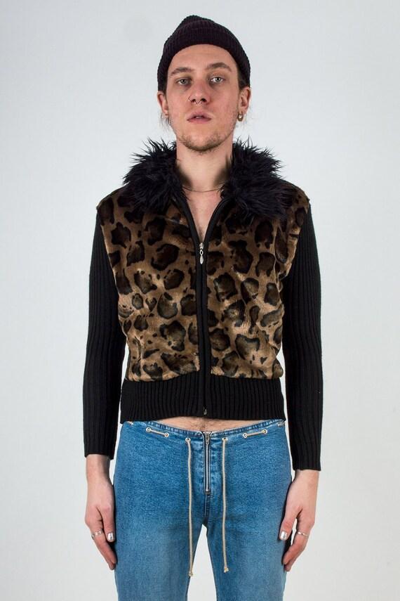 Cheetah Sweater Jacket