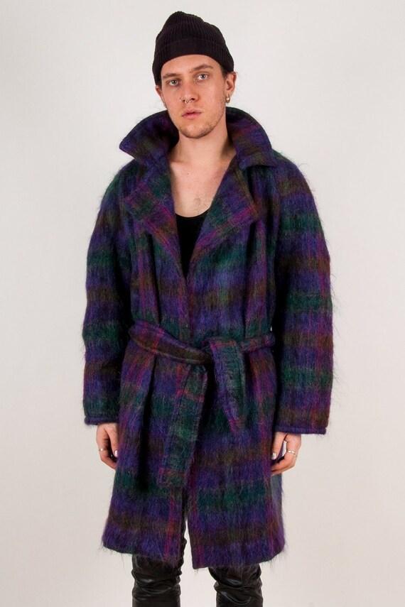 Mohair Belted Overcoat