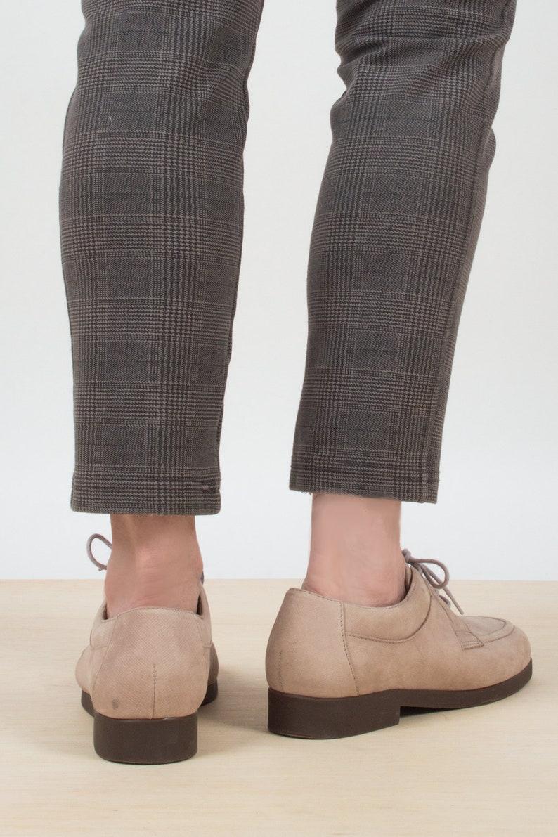 Suede Derby Shoes