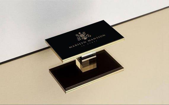 Luxus Visitenkarte Druck