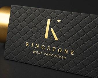 Laser cut black business card design and print business card luxury black business card design and print business card with gold foil stamping emboss colourmoves