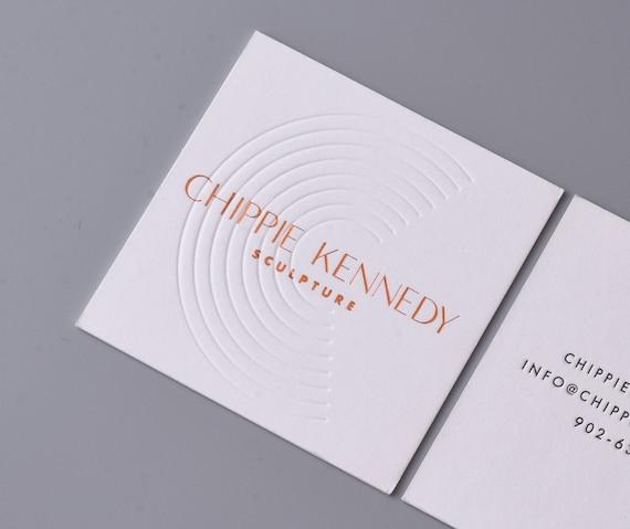 Luxus Weiß Visitenkarte Drucken Dick Visitenkarte Und Blinde Blindprägung Goldfolie Visitenkarte Muster Moderne Visitenkarte