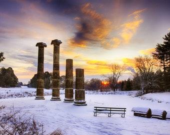 Pillars in the Park