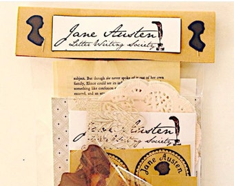 Jane Austen Letter Writing Society Mini Kit,