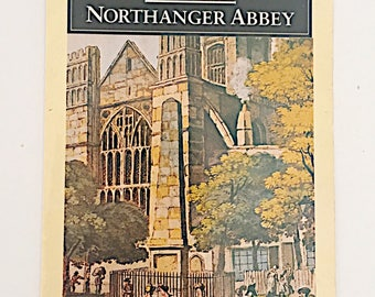 Post Card: Northanger Abby by Jane Austen