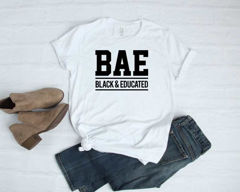 a81783e642 Black and Educated BEA Tshirt T Shirt   Afro Centric