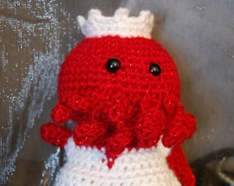 the RED bride Cthulhu Bride