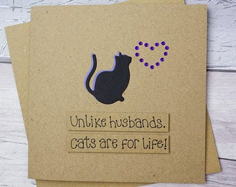 Divorce cards etsy