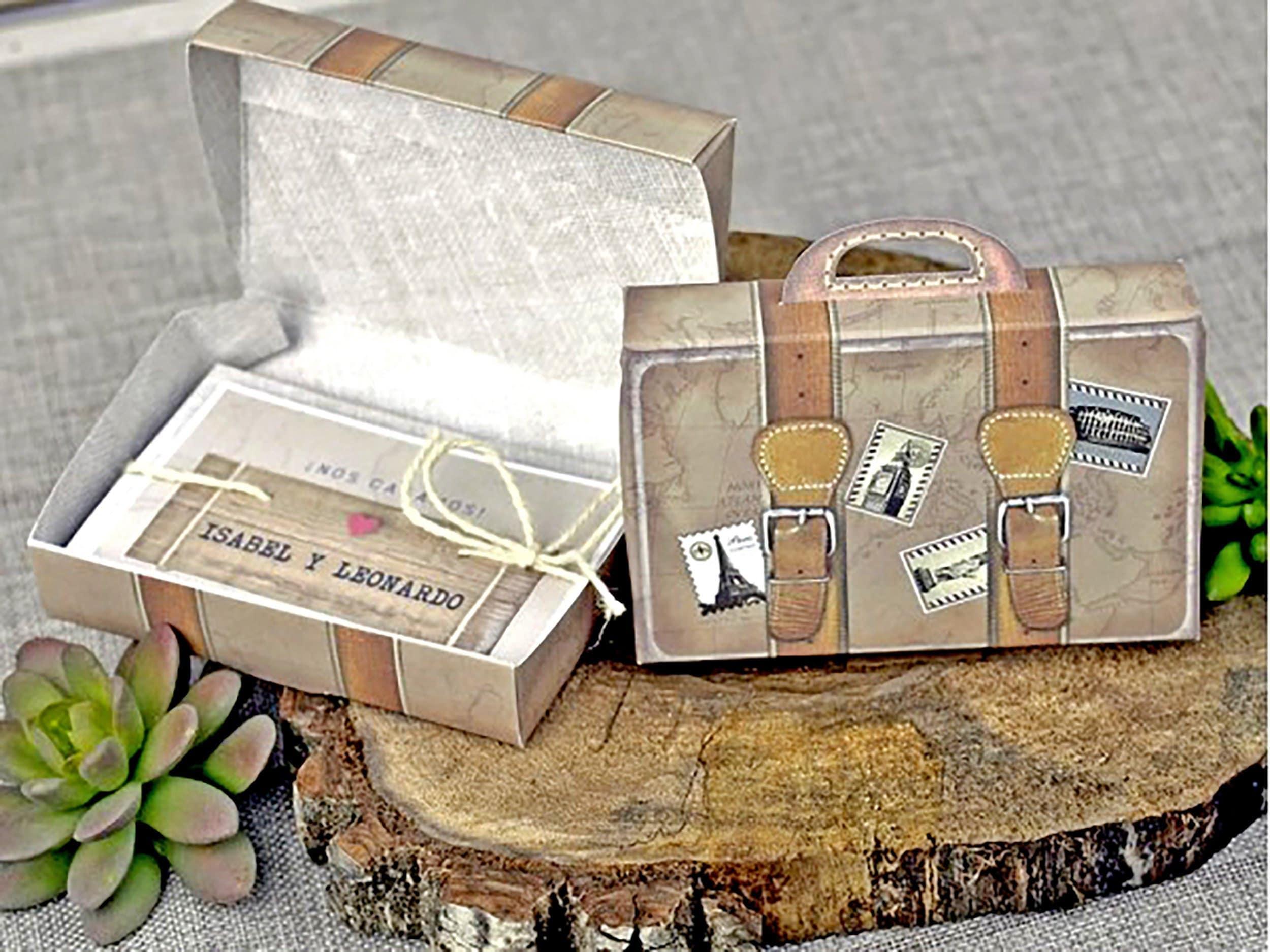 Up Themed Wedding Invitations: Megan Luggage Wedding Invitation Travel Theme Wedding Pop