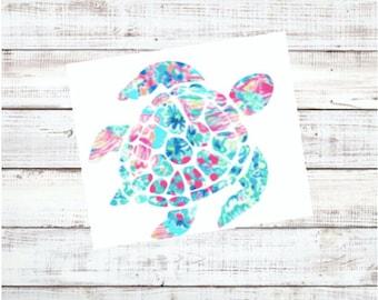 Sea Turtle Decal | Car Decal, Laptop Sticker, Tumbler Decal