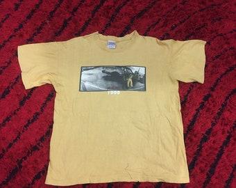 New R.E.M Rock Band Recogning Album Cover Men/'s Black T-Shirt Size S-3XL