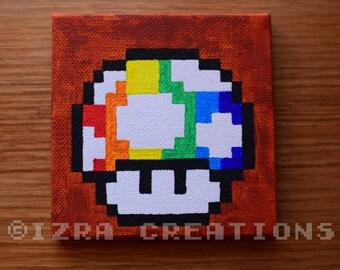 Painting Pixel Art Pokemon Carapuce Etsy