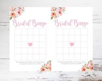 Bridal Bingo Printable // Bridal Shower Game