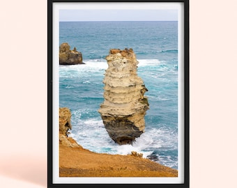 Australian Coastline | Fine Art Photography Print | Great Ocean Road | Landscape | Ocean Photography | Beach Poster Print | Nature Art Print
