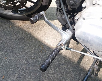 Rebar Foot Pegs and Shift Lever for Harley Davidson Sportsters