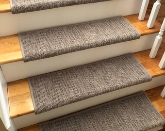 True Bullnose Padded Stair Treads Metal By Riverdrivedesigns