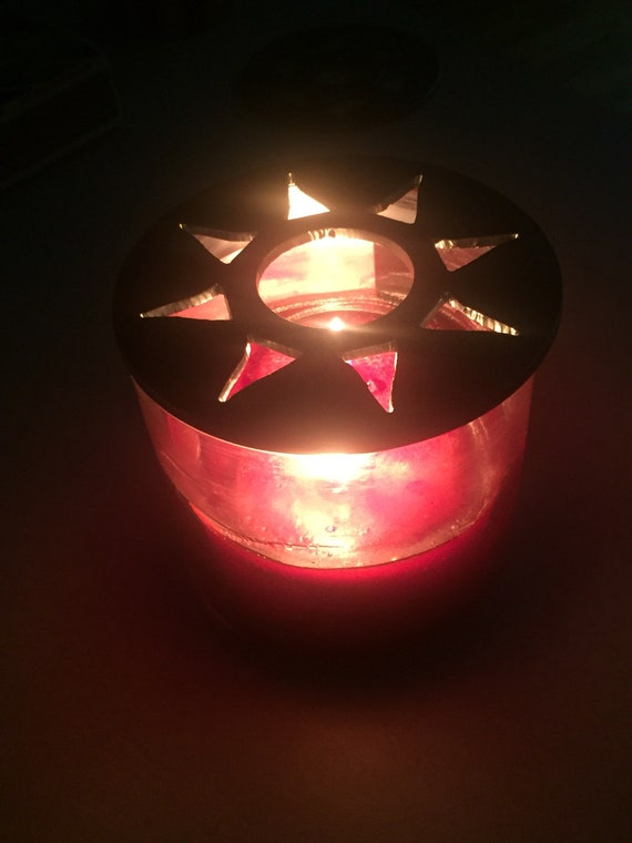 Moon, Stars, Sun Handcrafted Candle-Saver™ Brand Toppers! Look Great AND Help Melt your Candle Evenly! Fit Yankee Candles & More!!
