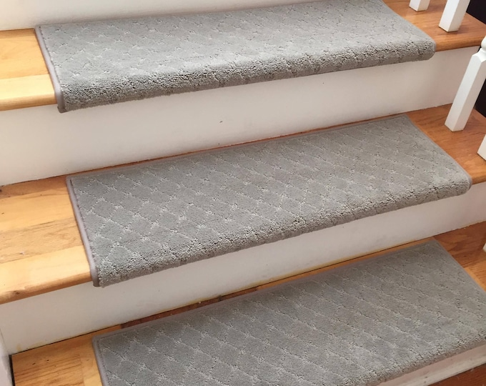 Clever Expression Alert True Bullnose™ Carpet Stair Tread   For Safety  Comfort Dog Cat Pet