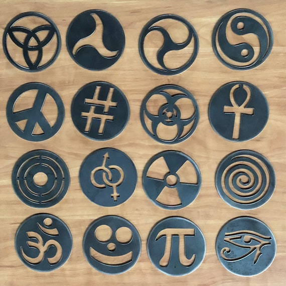 Signs & Symbols Handcrafted Candle-Saver™ Brand Toppers! Look Great AND Help Melt your Candle Evenly! Fit Yankee Candles and More!!