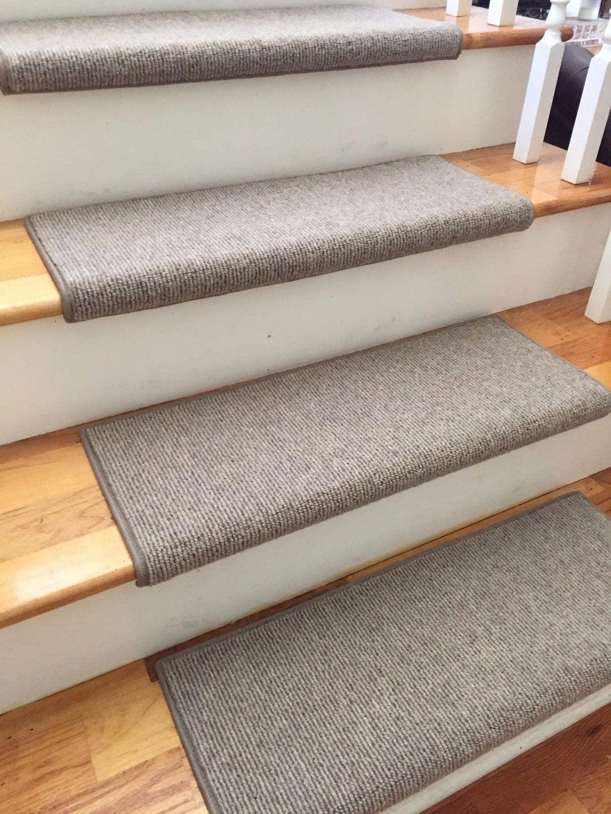 TRUE Bullnose™ Carpet Stair Tread Runner Replacement For Style, Comfort And  Safety (Sold Each)