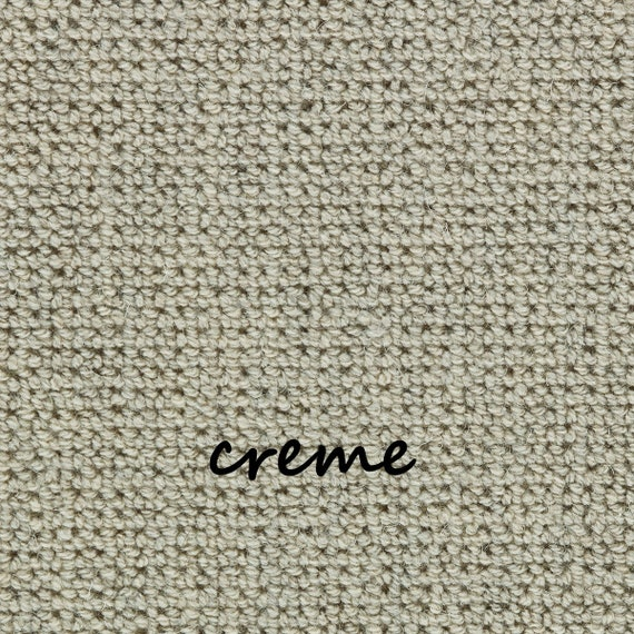 Ready to Ship Manchester Creme EccoTex Wool! - True Bullnose® Stair Treads
