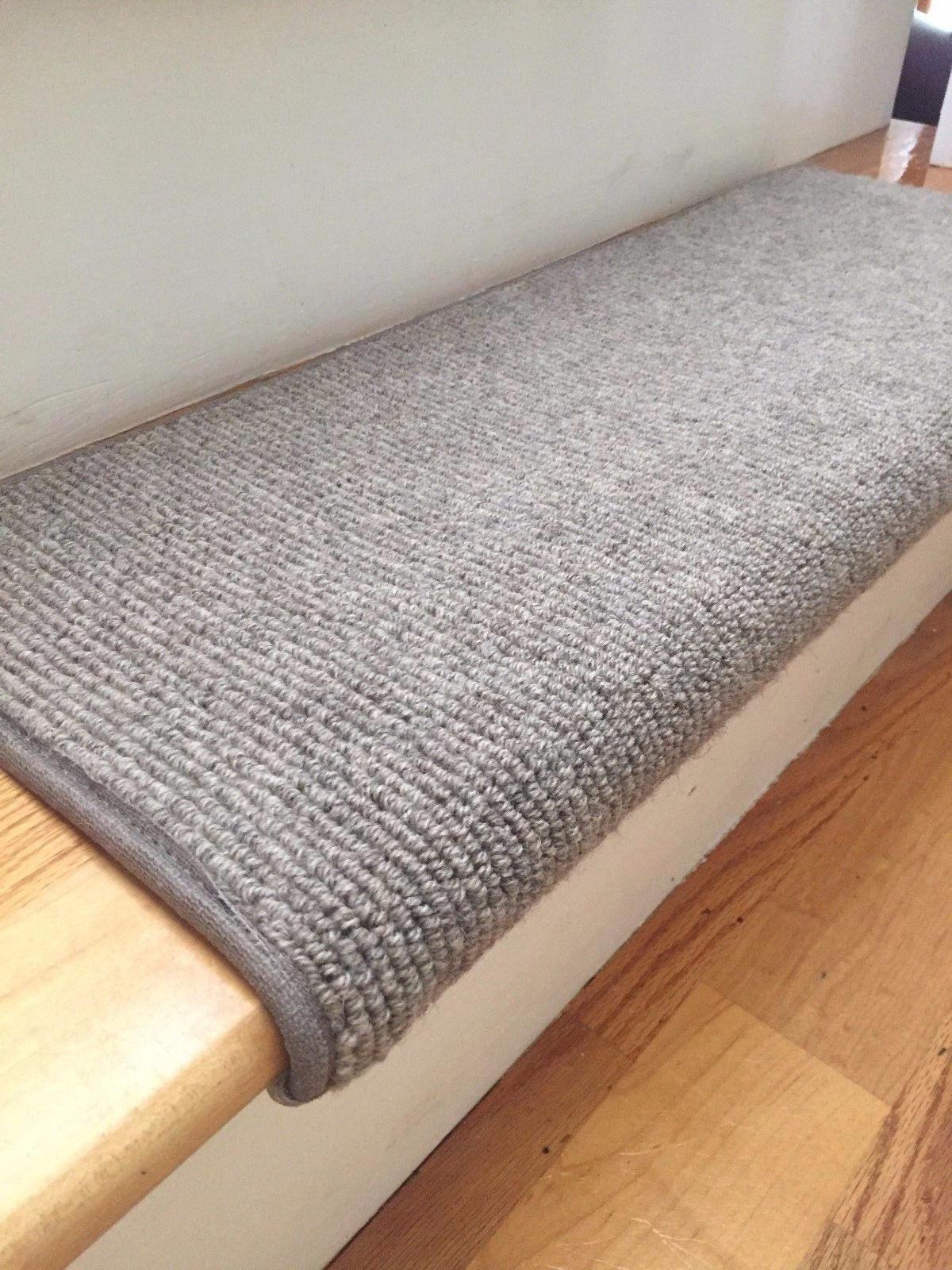 Bristol Granite Taupe New Zealand Wool True Bullnose