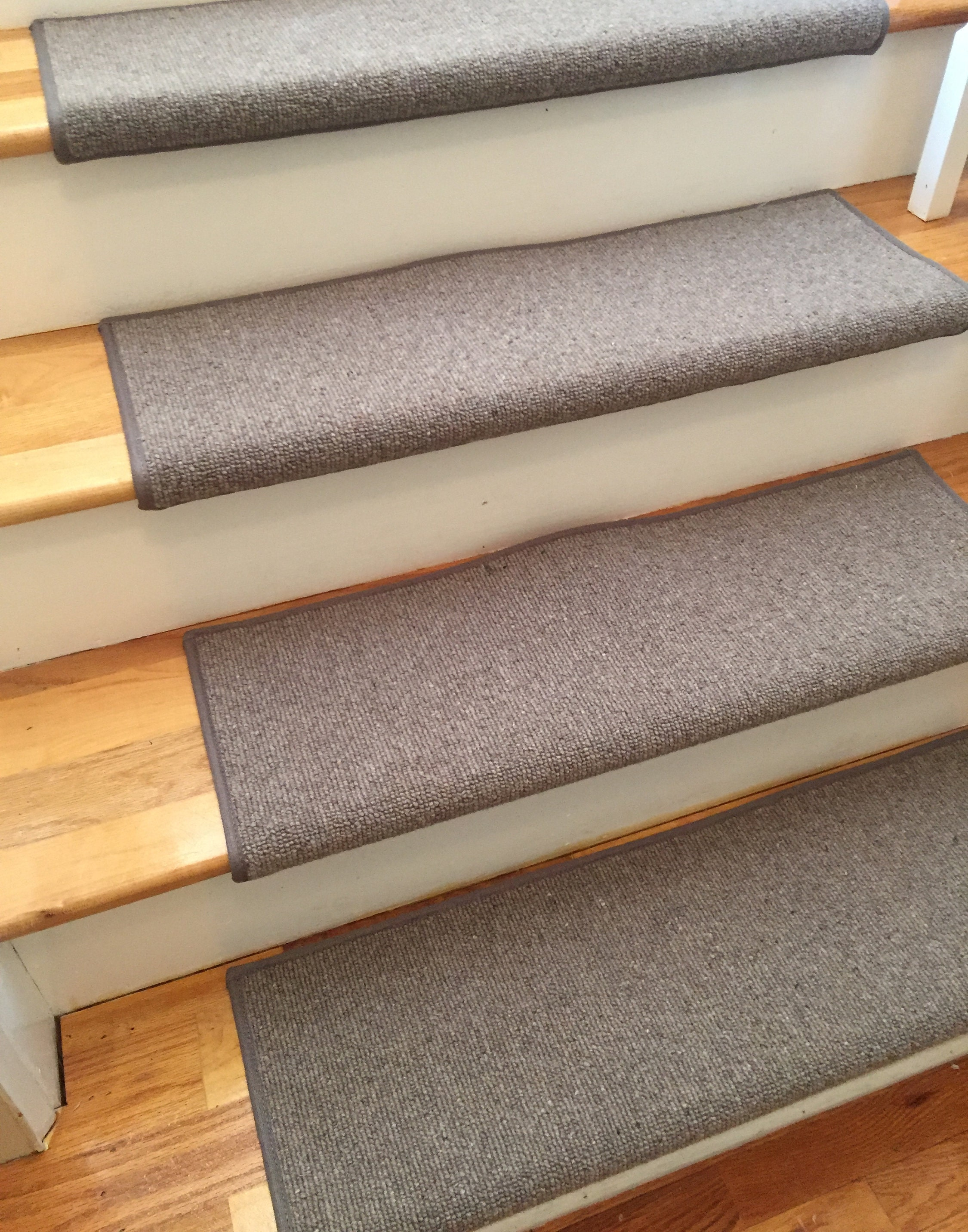 Morocco Thatch 100 Wool Padded True Bullnose Padded