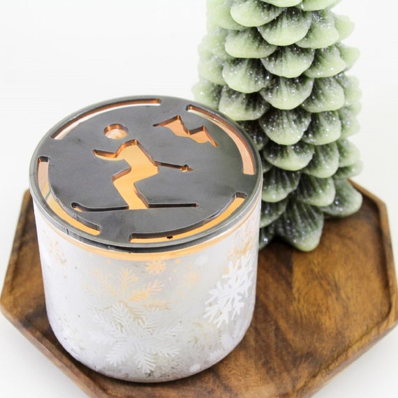 Places & Hobbies Handcrafted Candle-Saver™ Brand Toppers! Look Great AND Help Melt Your Candle Evenly! Fit Yankee Candles and More!!