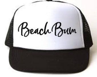 07b0916923280 Beach Bum Womens Trucker Hat