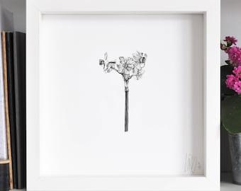 Narcissus Flower Print