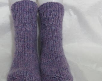handknitted artisan socks