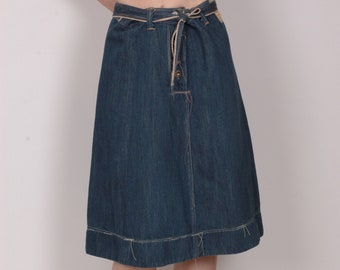56fb0786251 Levis Red limited edition collectable deconstructed denim a-line skirt, selvedge  denim, M